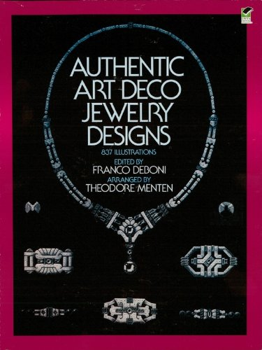 Authentic Metal (Authentic Art Deco Jewelry Designs (Dover Jewelry and Metalwork))