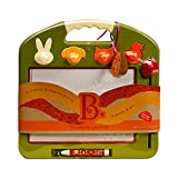 Battat B. Toulouse-Laptrec, Olive, Sketch and Erase Magnetic Board