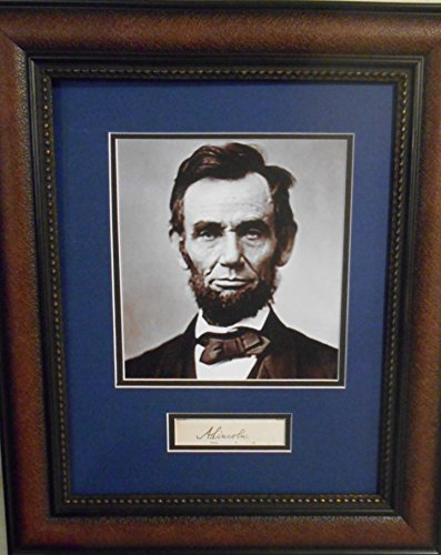President Abraham Lincoln autograph