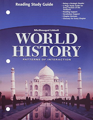 World History: Patterns of Interaction: Reading Study Guide, English