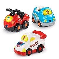 VTech Go! ¡Ir! Smart Wheels Sports Cars 3-Pack