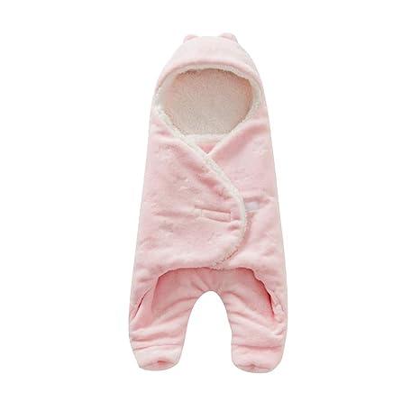 BabyFat Sacos de Dormir para Bebé Otoño/Invierno 2.5 Tog Rosa Label 0-6M