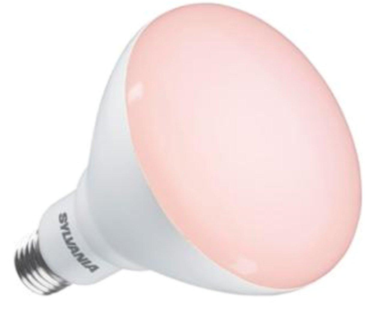 Sylvania LED Grow-Lux E27 Wachstumslampe Vegetative IP44 17W, 1100 lm, 125 mm Durchmesser, 25.000 h Lebensdauer, nicht dimmbar Feilo Sylvania Germany GmbH