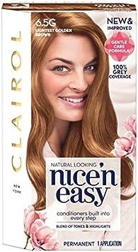 Nice N Easy tinte de pelo castaño ligero 6.5GN: Amazon.es ...
