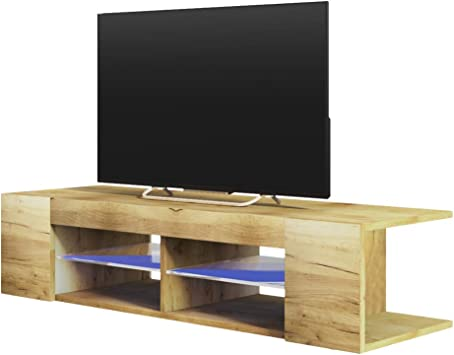 Selsey Mitchell - Mueble TV con LED/Mesa para TV/Mueble para ...