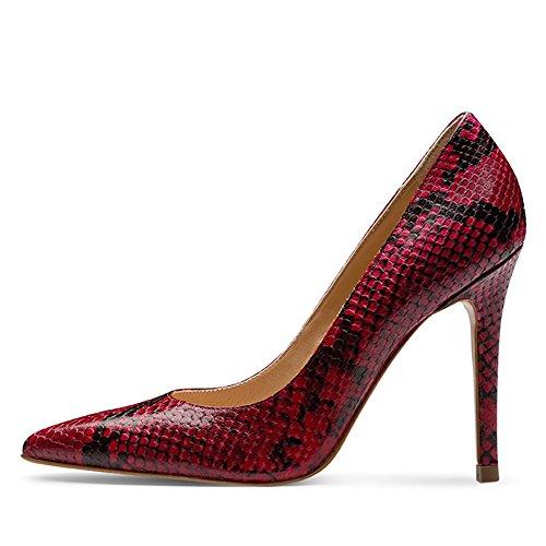 Col Scarpe Tacco Donna Shoes rosa Rosa Evita EqCv10wn