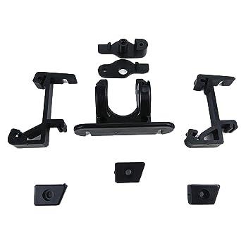 3d impresora piezas nueva ABS aleación Delta plástico extrusor ...