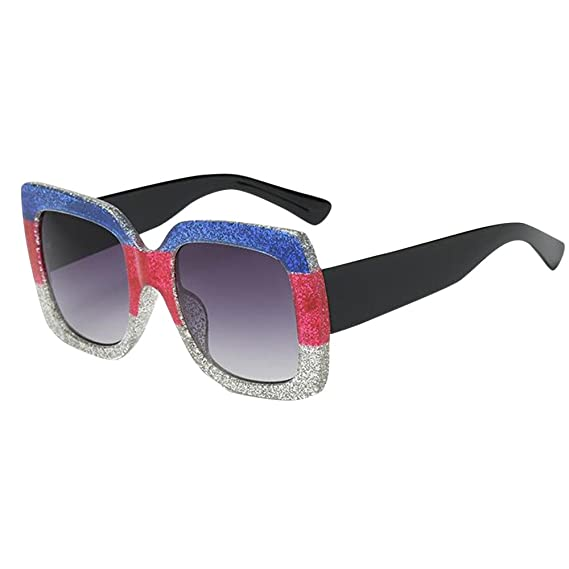 Gafas de Sol Mujer Grandes, Nuevas Gafas de Sol Cuadradas ...