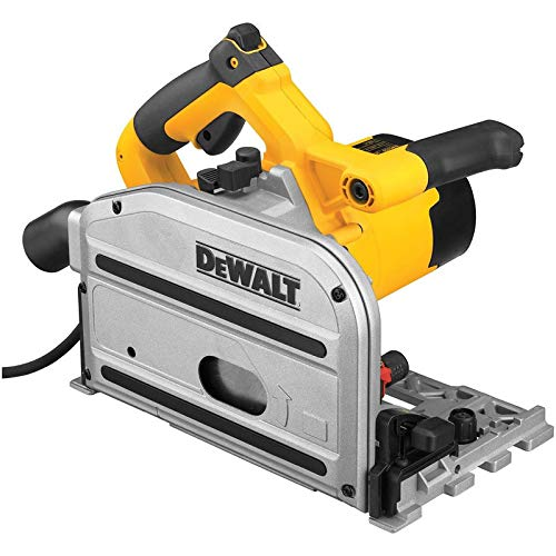 DEWALT DWS520CK 6-1/2-Inch 12-AMP TrackSaw Kit with 59-Inch and 102-Inch Track
