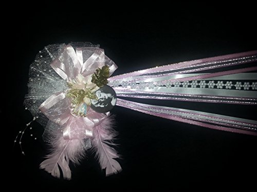 [Marilyn Monroe Birthday Ribbon Corsage for Party. Clothing Accessory Button (Pin)] (Marilyn Monroe Costume Child)