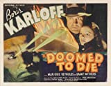 Doomed to Die POSTER Movie (22 x 28 Inches - 56cm x 72cm) (1940) (Half Sheet Style A)