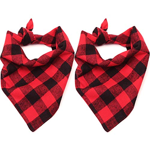2 pack Plaid Bandanna