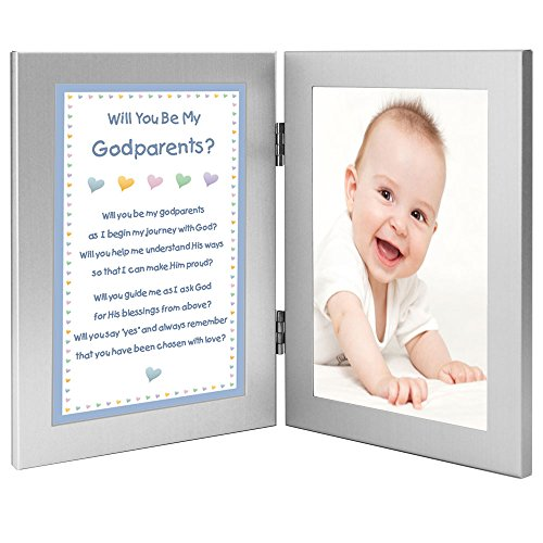 Amazon.com : Godmother and Godfather Gift from Godson - Will You Be ...