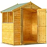 Overlap Garden Shed 4x6 BillyOh Keeper Wooden Shed