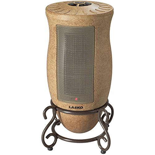 Lasko PORTABLE Oscillating CERAMIC Heater with 2 Quiet Settings and Built-In Safety Features, REMOTE Control Included Ceramic Heaters Lasko
