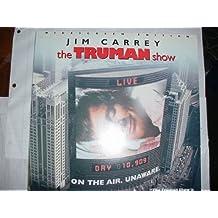 Laser Disc, Laserdisc of Jim Carrey in THE TRUMAN SHOW. Laura Linney and Ed Harris.