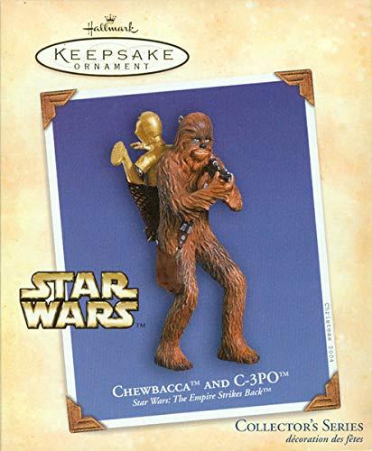 Chewbacca and C-3PO Star Wars Empire Strikes Back Hallmark Ornament -