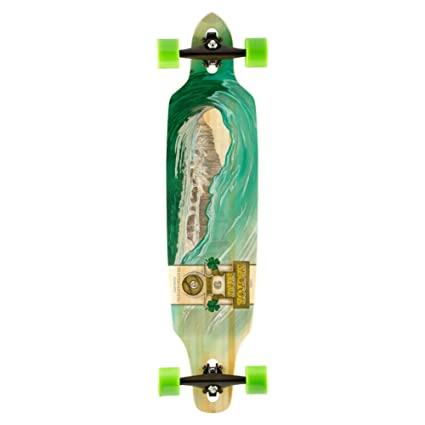 Sector 9 Drop-Thru Bamboo Lookout II Complete Downhill Longboard Skateboard