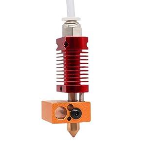 HITENDER NS0003 CR10 Hot End, Heater Block Assembly for 3D Printers CR10/CR10S/CR10S4/CR10S5/Ender 3/Ender 3 Pro (24V)