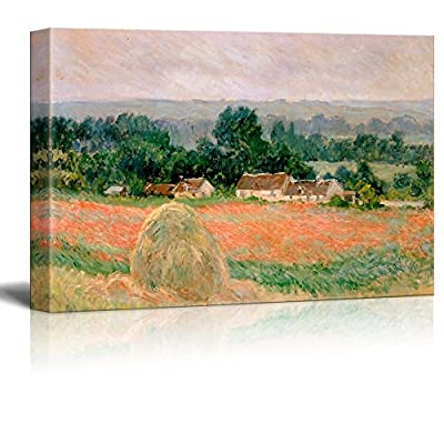 Fascinating Handicraft, it is good, Haystack at Giverny by Claude Monet