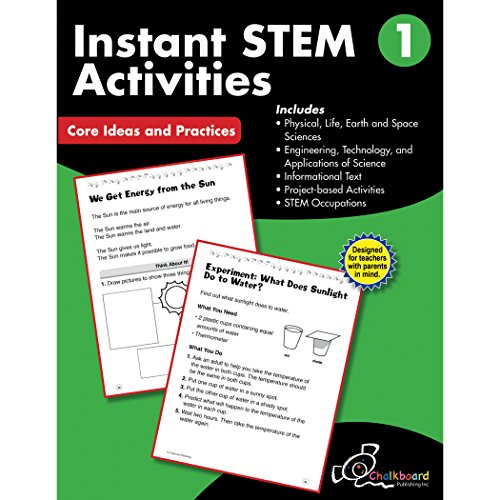 instant STEM activities Grade 1 (Chalkboard Publishing Workbooks)