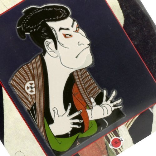 Japanese Art Sticker/Decal for Accessories-Japanese Art Sticker/Decal for Accessories- Sharaku!!!