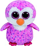 TY Beanie Boo Plush - Glider the Pink Penguin 15cm