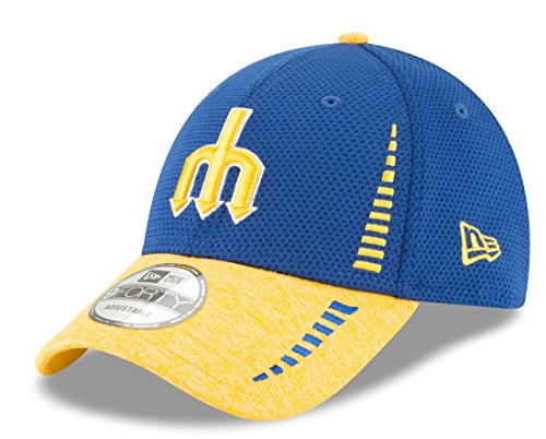 b6820c7ba5568 New Era Seattle Mariners 9Forty MLB Cooperstown Speed Tech 2