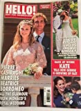 Hello! Magazine Pierre Casiraghi and Beatrice Borromeo August 10, 2015
