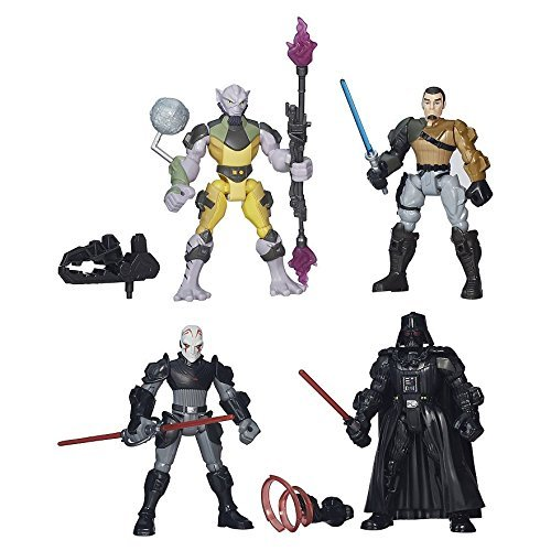 Star Wars Hero Mashers Capture The Rebels Set