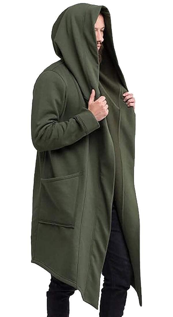 Amazon.com: Hombres sudaderas con capucha Sudadera larga ...