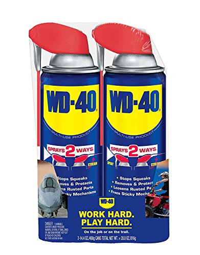 WD-40 Twin Sprays with Straws (2-Pack/ 4 Total) by WD-40