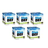 BlueDEF DEF002 Diesel Exhaust Fluid - 2.5 Gallon Jug (5)