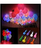 Junos LED Balloons Pack Of 25 - Multi Color