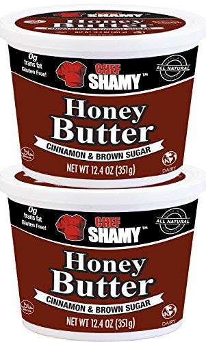 Chef Shamy Honey Butter, Cinnamon Brown Sugar (Pack of 2)