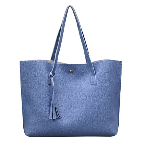 Verde 44x10x31cm 32x3 94x12 Bolso Color Bandolera Rosa Claro sintética para Dabixx Piel 17 Azul Mujer 2 8zTqwdPFF