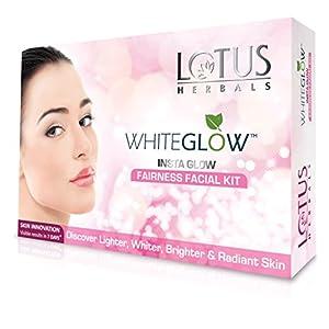 Lotus Herbals White Glow Insta Glow Fairness 1 Facial Kit, 40g