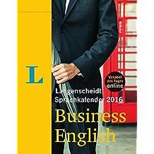 Langenscheidt Sprachkalender 2016 Business English Abreißkalender