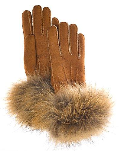 Finn Raccoon Trim Gloves
