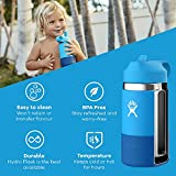HYDRO FLASK Pacific Cobalt Kid's Wide Mouth 2.0