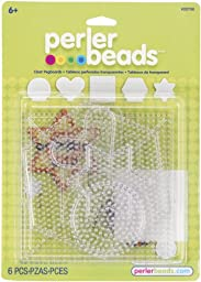 Perler Beads Small & Large Basic Clear Pegboards