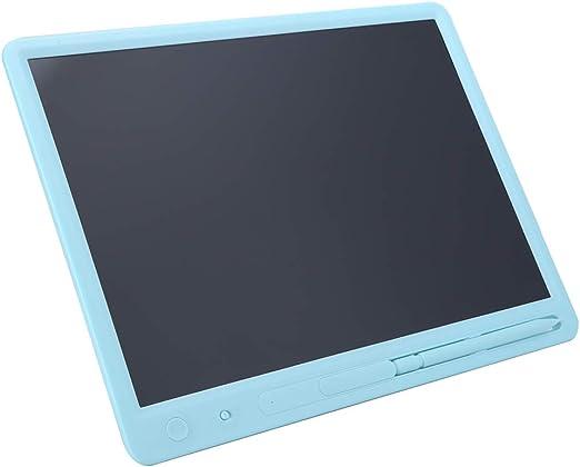 LCD 書き込みタブレット 15インチ カラフル LCDパネル デジタル LCDライティングボード 先生 子供 医者などに適する スマート電子落書きボード(ブルー)
