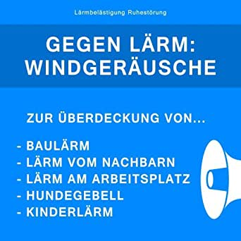 gegen l rm windger usche zur berdeckung von baul rm l rm vom nachbarn kinderl rm. Black Bedroom Furniture Sets. Home Design Ideas