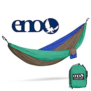 ENO Eagles Nest Outfitters - DoubleNest Hammock, The Original Portable Outdoor Camping Hammock for Two, Special Edition Colors, ATC