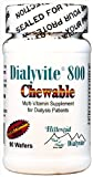 Dialyvite 800 Chewable - 90 Wafers (Renal Supplement)