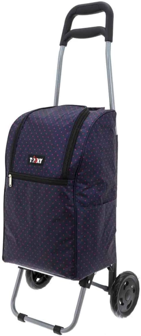 Einkaufsroller Einkauftstrolley 2,4 kg Einkaufswagen Alu-Gestell