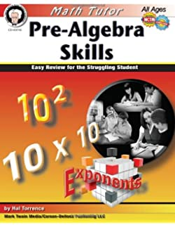 Pre-Algebra Skills: Easy Review for the Struggling Student (Math Tutor Series)