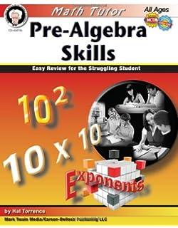 Pre-Algebra Skills: Easy Review for the Struggling Student (Math Tutor Series)