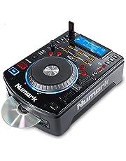 Numark NDX500 - Reproductor de CD/USB y Controlador de Software Independiente con Jog Wheel Sensible al Tacto, Interfaz de Audio, Premapeado para una Profunda Integración con Serato DJ