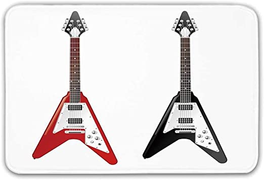 Alfombra de entrada de goma antideslizante para guitarra ...